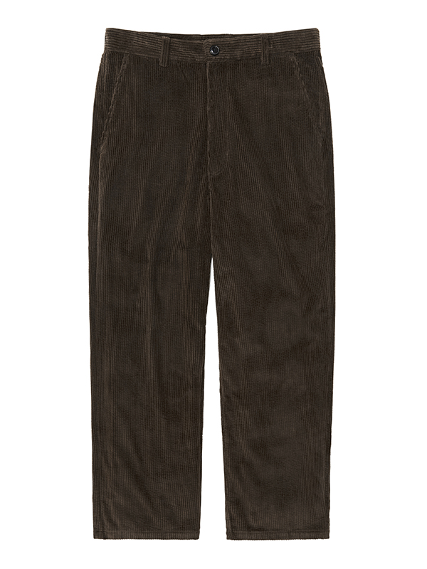 CORDUROY PANTS HA [BROWN]