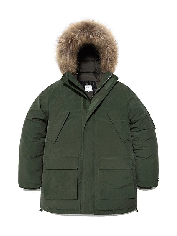 HEAVY DOWN PARKA HA [KHAKI]