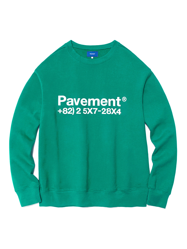 NEW GRAPHIC CREWNECK HA [EMERALD]