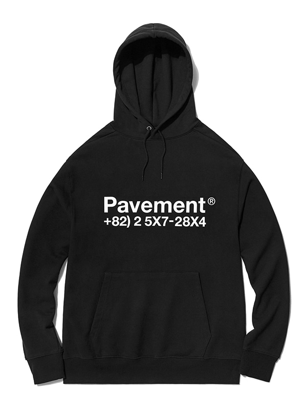 NEW GRAPHIC HOODIE HA [BLACK]