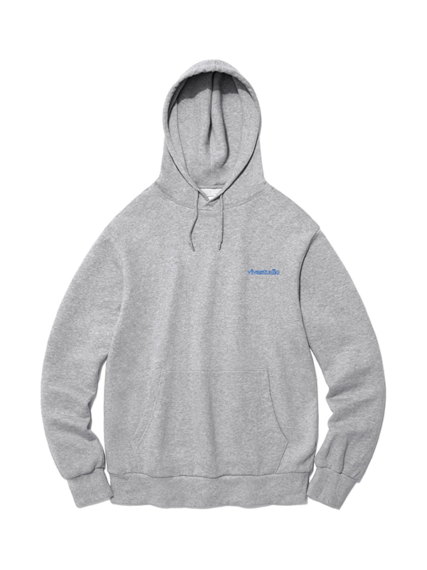 OUTLINE LOGO HOODIE IS [MELANGE]