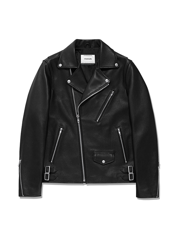 CLASSIC RIDERS JACKET IS [BLACK]