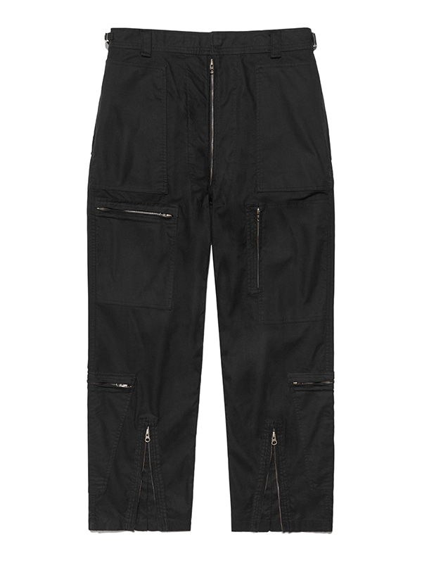 MILITARY PANTS IS [BLACK]