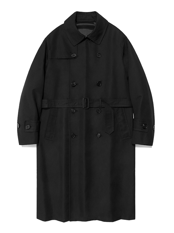 TRENCH COAT IS [BLACK]