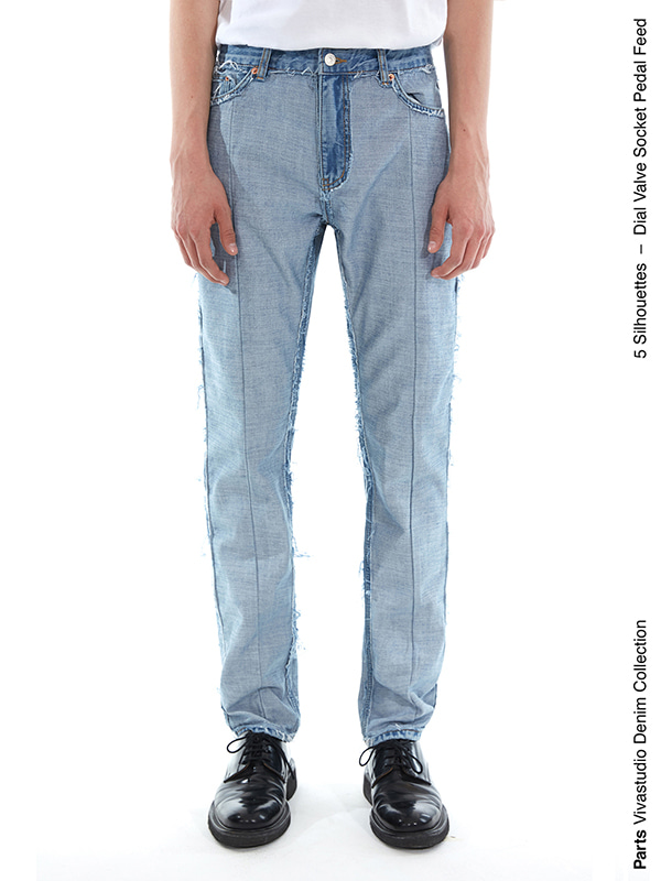 FEED JEANS IS [BLUE]