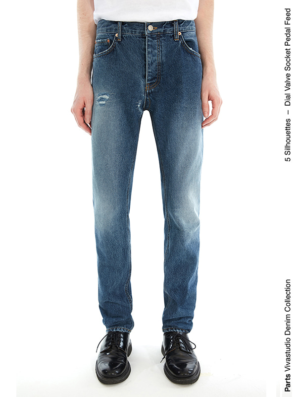 VALVE JEANS IS [BLUE]