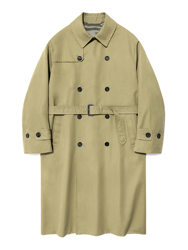TRENCH COAT IS [BEIGE]