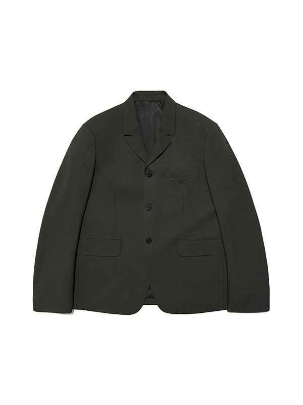 BLAZER JACKET IS [KHAKI]