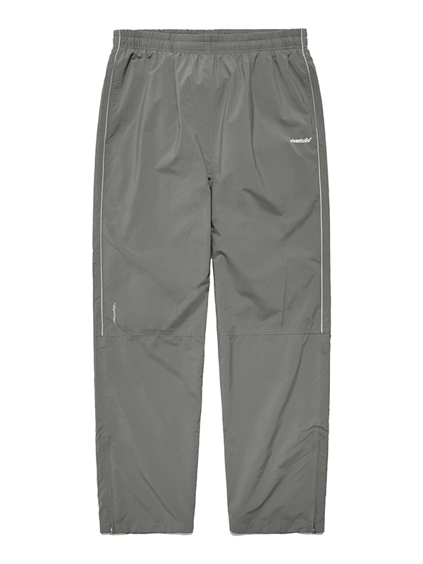 NYLON TRACK PANTS IS [KHAKI]