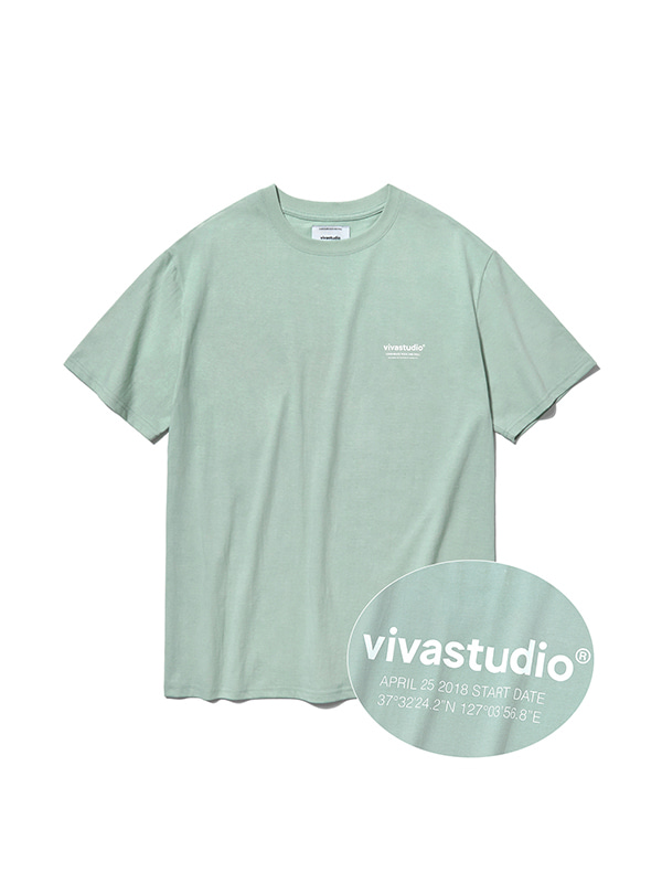 LOCATION LOGO SHORT SLEEVE IS [MINT]