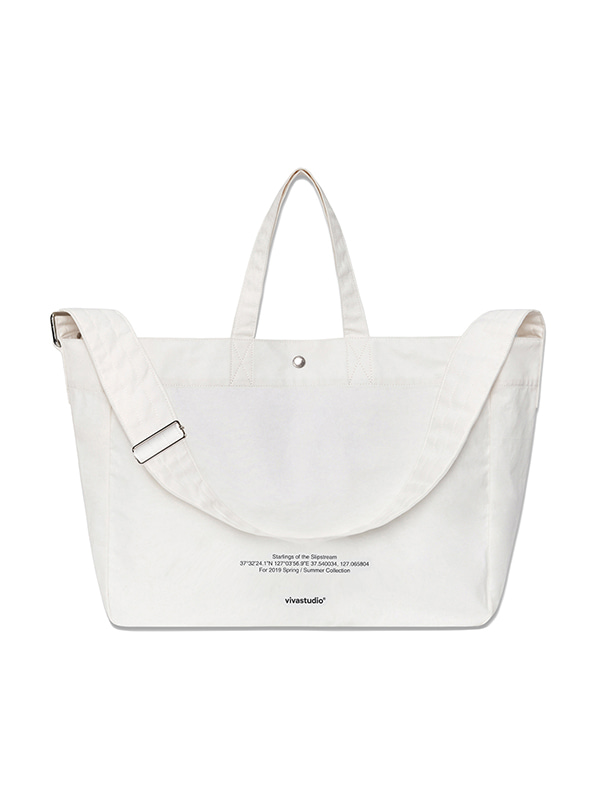 NEW TWO WAY BAG IS [WHITE]