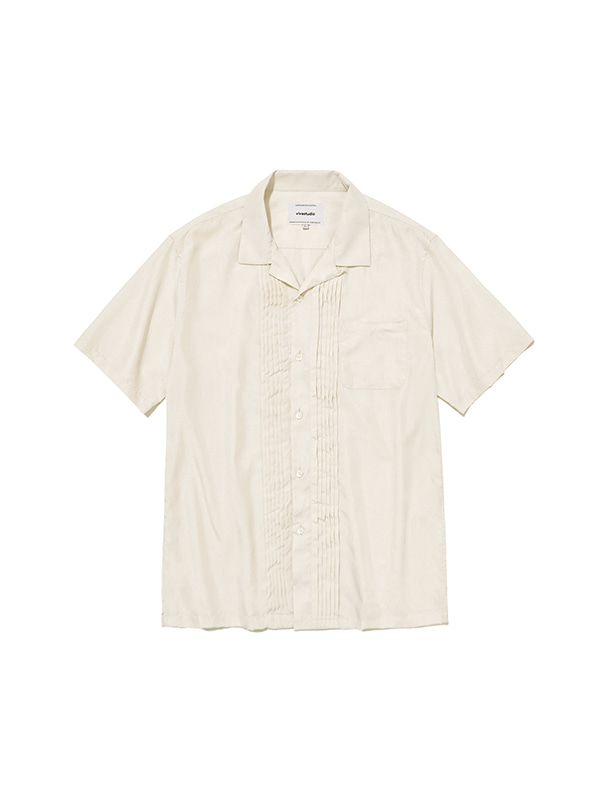 TUCK SHIRTS IS [IVORY]