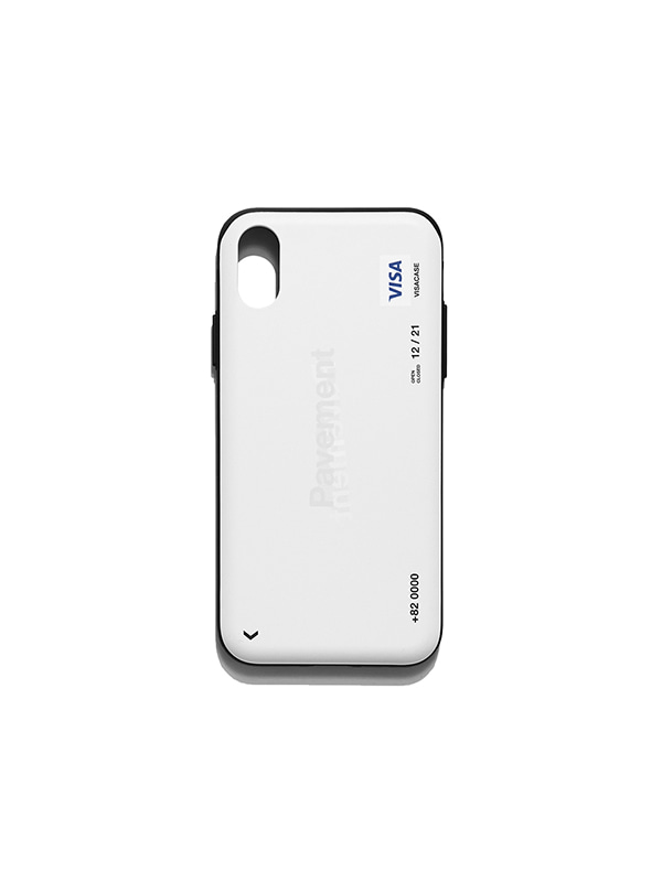 VISA CASE IS [WHITE]