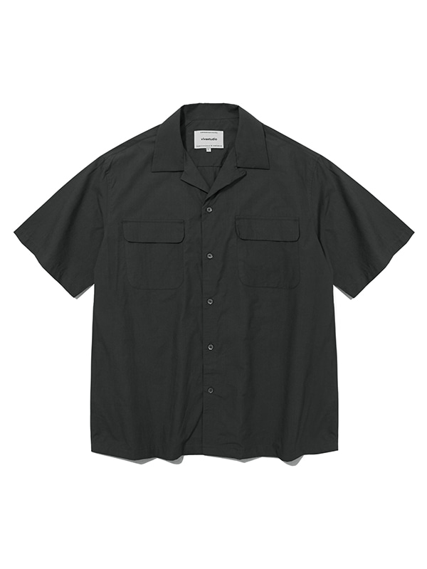 TWO POCKET SHIRTS IS [CHARCOAL]