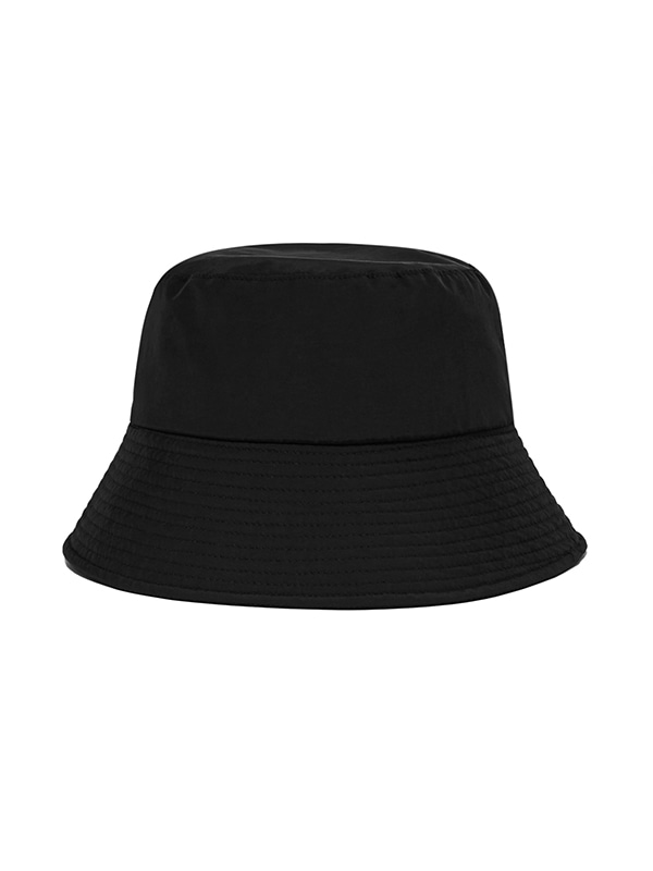 MINIMAL BUCKET HAT IS [BLACK]