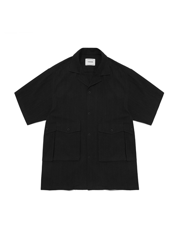 UTILITY SHIRTS IS [BLACK]