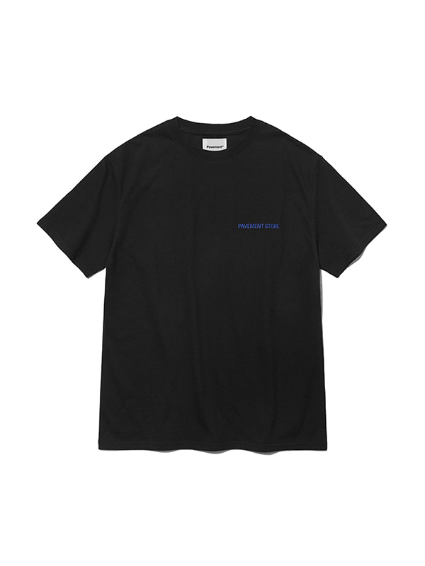 PAVEMENT STORE SHORT SLEEVE IS [BLACK]