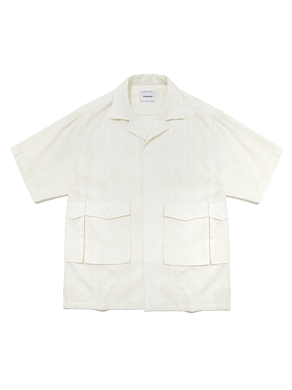 UTILITY SHIRTS IS [IVORY]