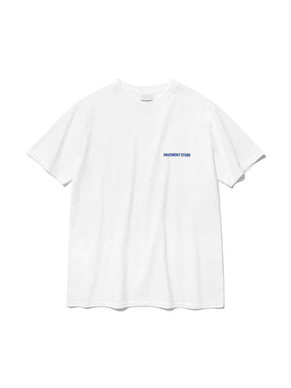 PAVEMENT STORE SHORT SLEEVE IS [WHITE]