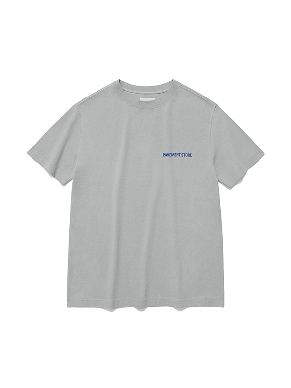 PAVEMENT STORE SHORT SLEEVE IS [GRAY]