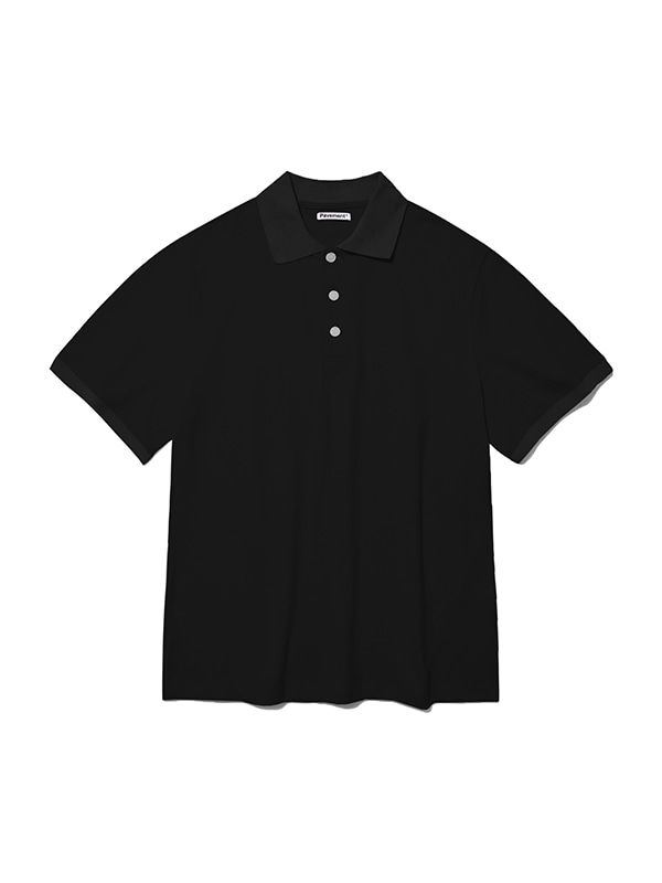 PK SHORT SLEEVE IS [BLACK]