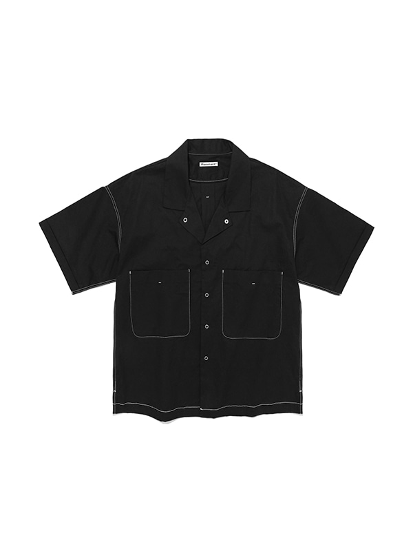 FAVORITE TWO POCKET SHIRTS IS [BLACK]