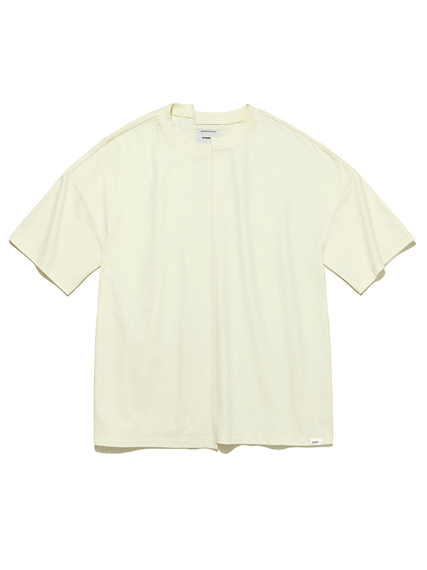 CUTTING SHORT SLEEVE IS [IVORY]