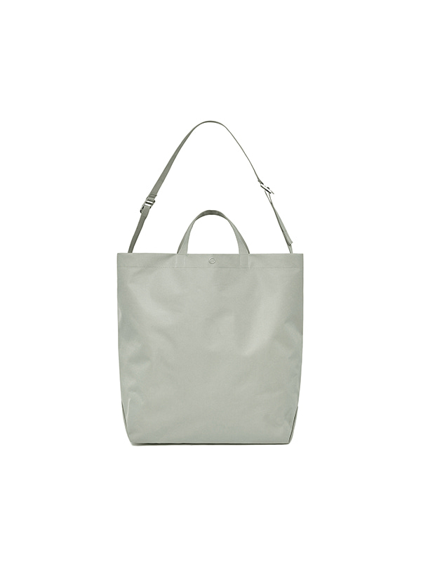 BIG CROSS BAG IS [GRAY]
