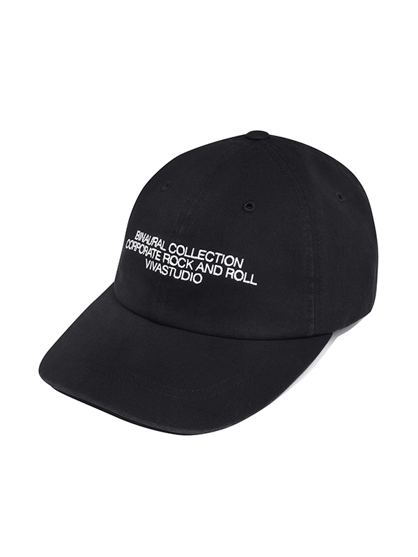 WASHED BALL CAP IA [BLACK]