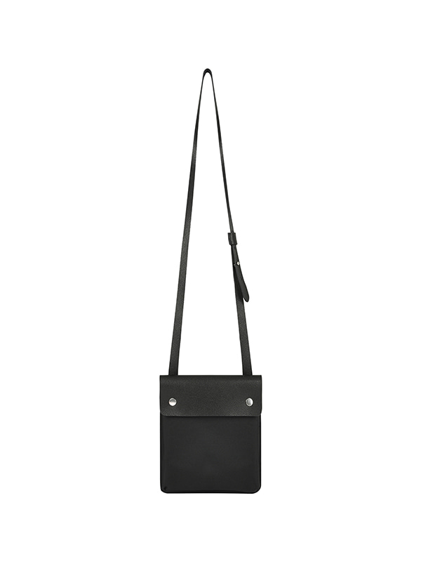 MINI LEATHER BAG IA [BLACK]