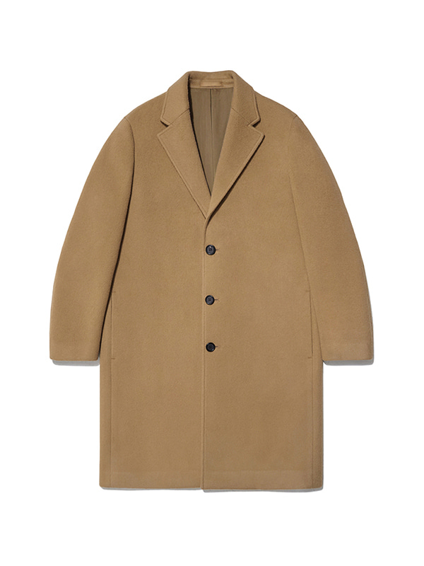 CASHMERE CHESTERFIELD COAT IA [CAMEL]