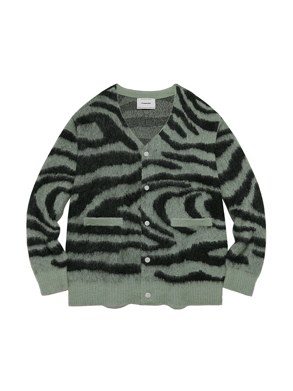 KID MOHAIR TIGER CARDIGAN IA [MINT]