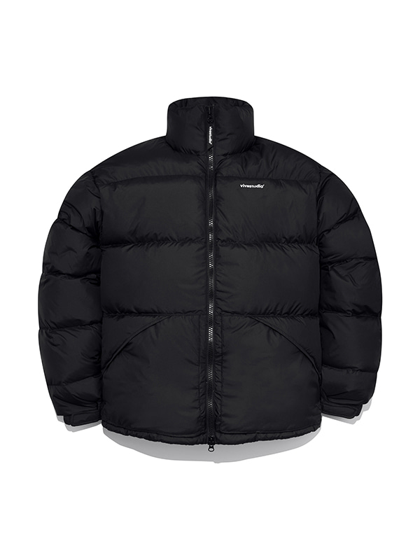 LIGHTWEIGHT DOWN PARKA IA [BLACK]