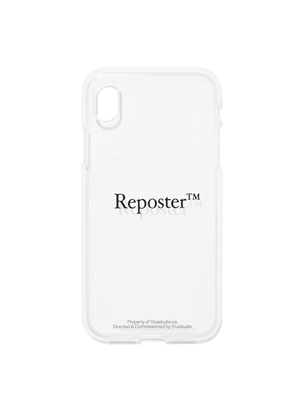 REPOSTER PHONE CASE JS [BLACK]