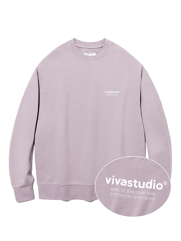LOCATION CREWNECK JS [PURPLE GREY]