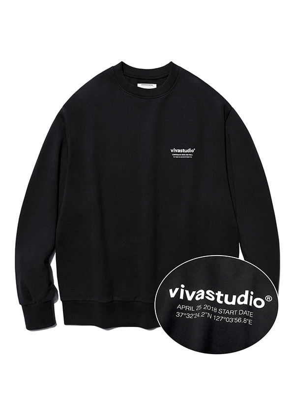 LOCATION CREWNECK JS [BLACK]