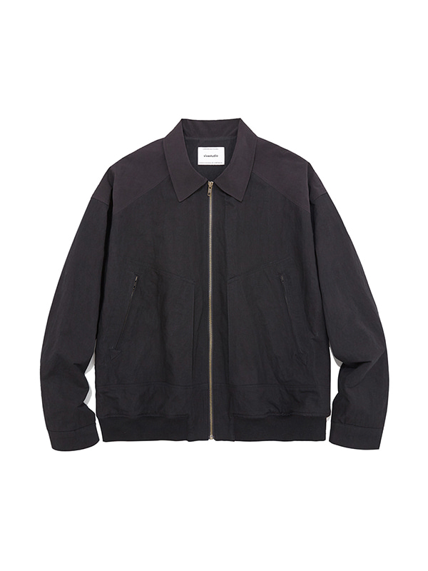 FLIGHT JACKET JS [BLACK]