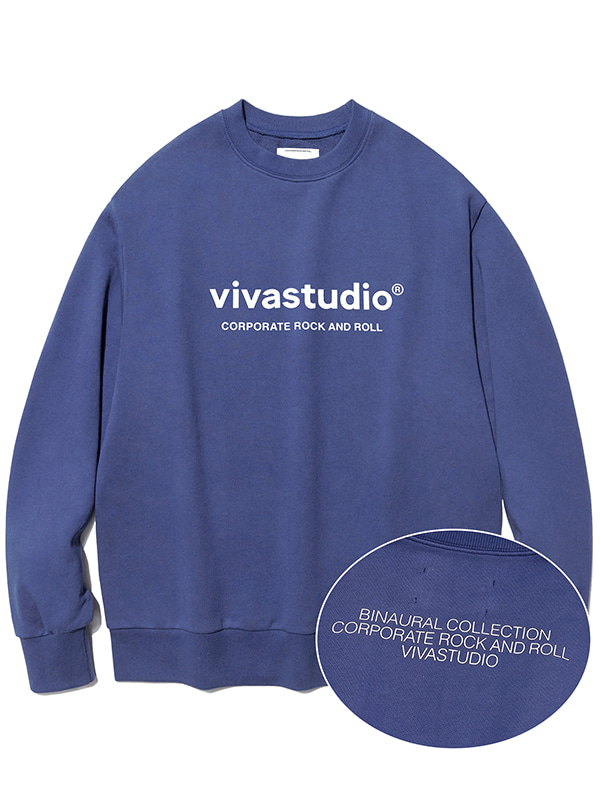 BINAURAL CREWNECK IA [SOFT BLUE]