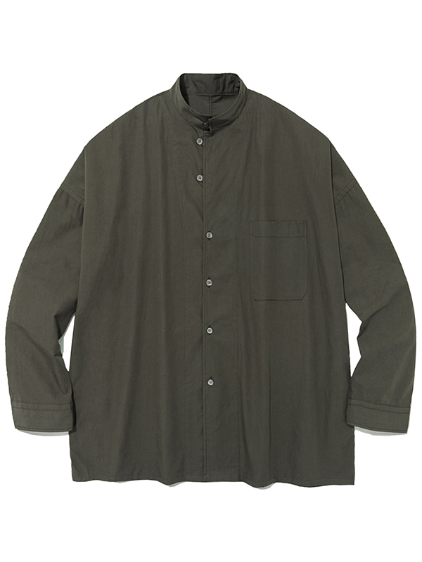 TAILORED COLLAR SHIRTS IA [BROWN]