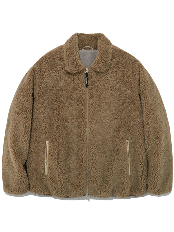 FLEECE JACKET IA [BEIGE]