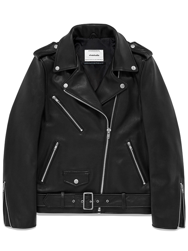 BONNI RIDERS JACKET JS [BLACK]