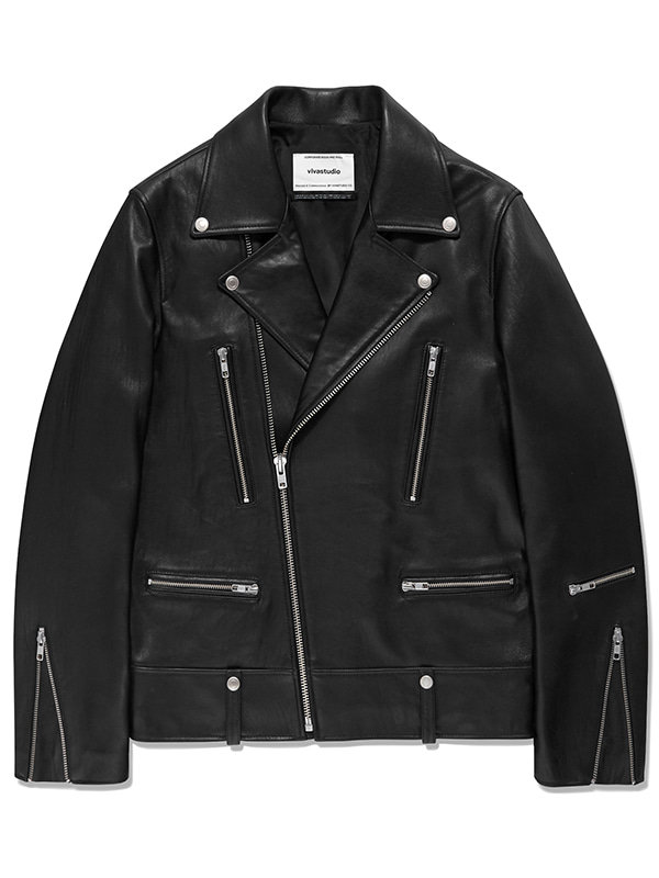 TERRY RIDERS JACKET JS [BLACK]