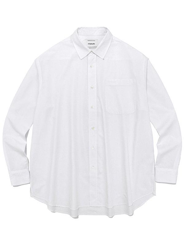 OVER FIT SHIRTS JS [WHITE]