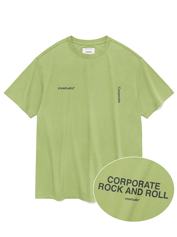 NEW CORPORATE SHORT SLEEVE JS [PASTEL GREEN]