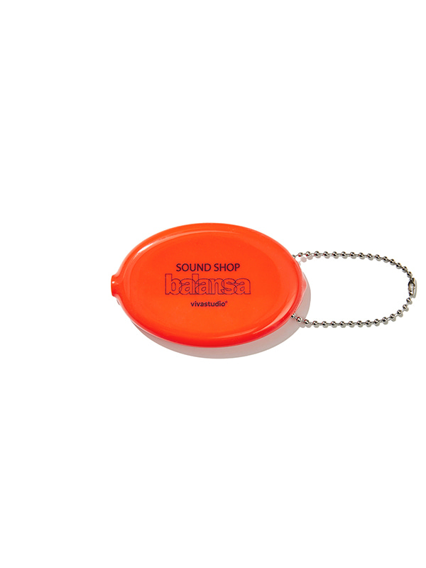 VIVASTUDIO X BALANSA COIN CASE JS [ORANGE]