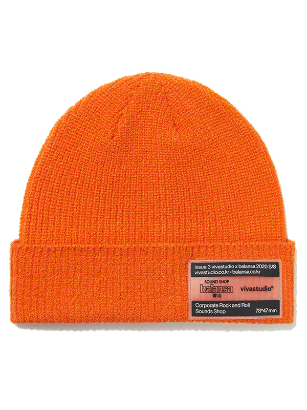 VIVASTUDIO X BALANSA BEANIE JS [ORANGE]