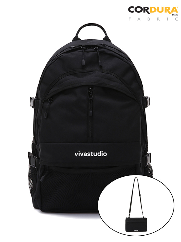 HOLIDAY CORDURA BACKPACK JS [BLACK]