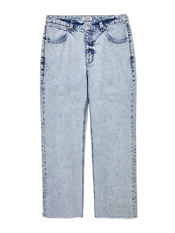 CROP CUT OFF JEAN JS [ICE]
