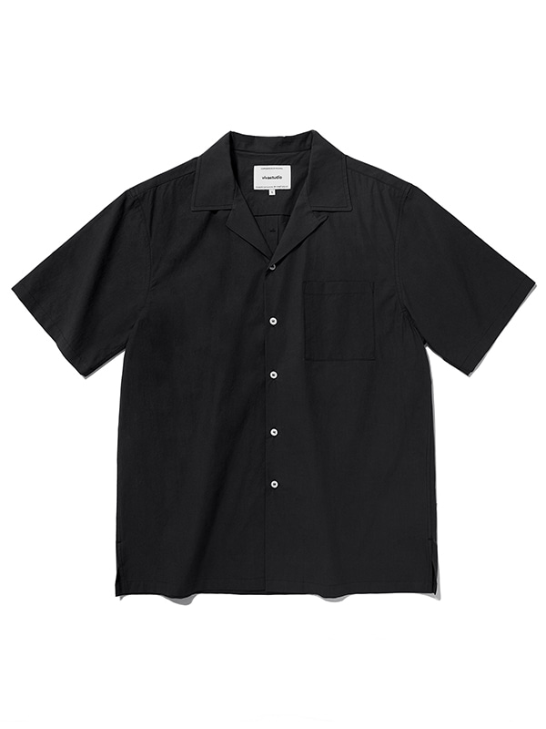 MINIMAL SUMMER SHIRTS [BLACK]