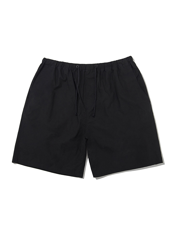 COTTON SHORTS JS [BLACK]